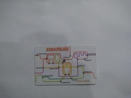 Georgia Transport Cards, (1pcs) - Non Classificati