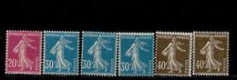Frankreich 185, 187,188 Säerin ** MNH Postfrisch Neuf (3) - Unused Stamps