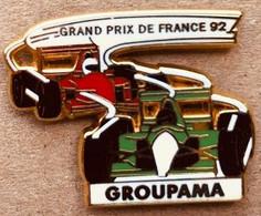 FORMULE 1 - FORMULA ONE - AUTO - VOITURE - CAR - GIORNALE - GROUPAMA - GRAND PRIX DE FRANCE 92 - 1992 - EGF- ARTHUS-(18) - F1