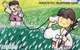 SOUTH KOREA - AUTELCA - TELEPHONING PLAY - J - Korea, South