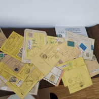 Many Railway Parcel Cards. Bulletin D'envois, Etc. - Used