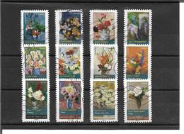 1120>1131  Flore. Bouquets De Fleurs Oblitérés 2015 - Luchtpost