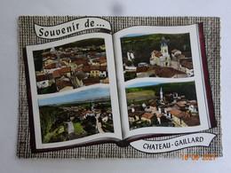 01 AIN CHÂTEAU-GAILLARD SOUVENIR DE .... MULTI-VUES EDIT. LAPIE - Other Municipalities
