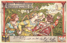 80504- Zweiter Wettstreit Deutscher Männergesangsvereine Zu Frankfurt Am Main Juni 1903 - Frankfurt A. Main