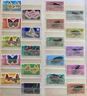 RDC 1971 - Insectes & Papillons - Two Complete Series - MNH** - Bids Start@5 Eur !! - OCB Value 2019 : 120 Eur Good Luck - Nuevas/fijasellos