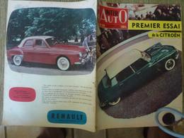 Inter Auto Citroën DS 19 Octobre 1955 2 CV Chevaux Maserati Jaguar Florida Alfa Romeo - Auto/Moto