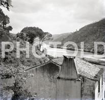 SET 1955 RIO MONDEGO COIMBRA PORTUGAL HEINKEL 60mm NEGATIVES NOT PHOTO FOTO NEGATIVO - Non Classés