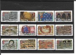 455->466 Art Roman Oblitérés 2010 - Luchtpost