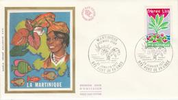 FDC 1977 MARTINIQUE - 1970-1979