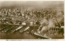 Photo Cpsm NEW-YORK CITY Docking Hudson River - Other