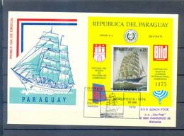 PARAGUAY FDC SHIPS CIRCULED - Paraguay
