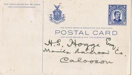 40813. Entero Postal 2 Ctvos FILIPINAS, Philipines Is. USA - Filipinas