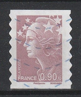 2009_Marianne De Beaujard YT N°287 Oblitéré / Used Self-adhesive Stamp - Luchtpost