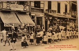 MERLIMONT PLAGE - La Procession Du 16 Août De Chaque Année - Sonstige Gemeinden