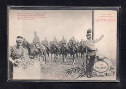 (16/06/21) THEME MILITARIA-CPA 14ème HUSSARDS - Regiments