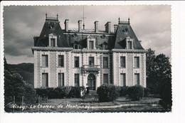 Carte De VINAY Le Château De Montvinay   ( Format C.P.A. )( Recto Verso ) - Vinay