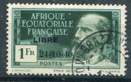 Afrique Equatoriale Française          140C Oblitéré - Usati