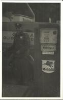 "Distributore Carburanti ""Mobiloil - Mobilgas"" Con Benzinaio, Fuel Distributor, Distributeur De Carburant - Other"