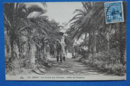 U23 ALGERIE FRANC.BELLE CARTE   1946 ORAN     POUR PARIS FRANCE + AFFRANCH. PLAISANT - Storia Postale