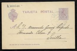 ESPAÑA. 1923. GALAROZA (HUELVA) / SEVILLA - Cartas