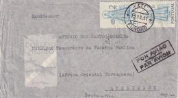 PORTUGAL 1951 PLI AERIEN DE FUNDAO - Covers & Documents
