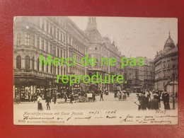 AUTRICHE 001 OSTERREICH WIEN VIENNE . Mariahilferstrasse Mit Casa Piccolo.  1906 - Non Classificati