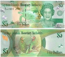 Cayman Islands 5 Dollars 2014 UNC - Cayman Islands