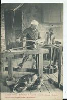 LAIGLE - L'ancienne Fabrication De L'épingle L'ancien Dressage à La Main (voyagée) - L'Aigle