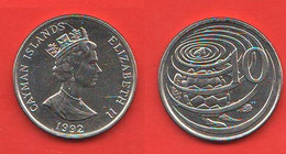 Cayman 10 Cents 1992 Brithish Territory - Cayman Islands