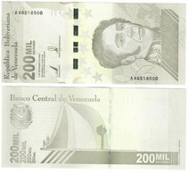 Venezuela 200,000 Bolivares 2021 UNC - Venezuela