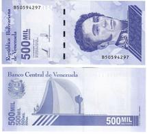 Venezuela 500,000 Bolivares 2021 UNC - Venezuela