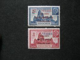Kouang-Tchéou:  TB Paire N° 156 Et N° 157. Neufs XX. - Nuovi