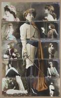 Puzzle De 10 CP SARAH  BERNHARDT - Artisti
