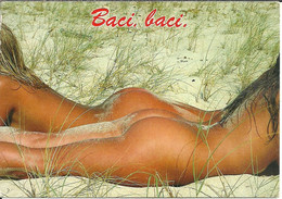 Nudi Artistici, Ragazze Seminude Distese Sulla Sabbia (Sexi, Pin Up) - Pin-Ups