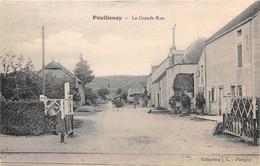 POULLENAY - La Grande Rue - Passage à Niveau - Other Municipalities
