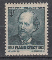 FRANKRIJK - Michel - 1942 - Nr 555 - MH* - Unused Stamps