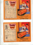 Pochette Photo Vide Photo-palace Casablanca  2 Types Publicite Film Kodak - Material Y Accesorios
