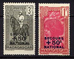 MADAGASCAR - N° 232/233** - SECOURS NATIONAL - Nuovi