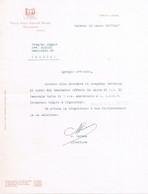 B4563- Palermo Fattura Per Banchetto Presso L'hotel Villa Igea, 1937 - Italy
