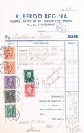 B4564- Palermo Fattura Dell'albergo Regina Via V. E. 316, 1943 - Italy