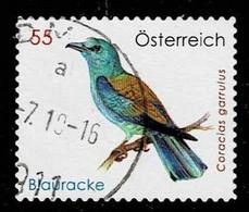 Österreich 2010,Michel# 2871 O European Roller (Coracias Garrulus) - 2001-10 Gebraucht