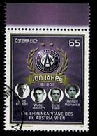 Österreich 2011,Michel# 2913 O 100 Years Of FC Austria Vienna - 2011-... Afgestempeld