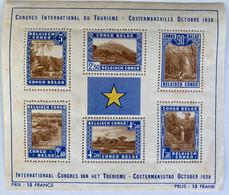 Congo Belge, Mix Of (mostly) Used, * & **, 1894 - 1959, BL2 + Interesting Envelopes. Bids Start @ 5 Eur ! Good Luck - Otros