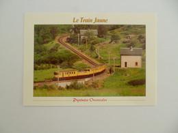 CERDAGNE   -  66  -  Le Train Jaune  -    Pyrénées Orientales - Sonstige Gemeinden