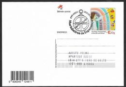 Portugal Entier Postal 2021 Marins D'espoir Dessin D'enfants COVID-19 Cachet Premier Jour Stationery Children's Drawing - Enteros Postales