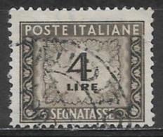 Italy 1947. Scott #J68 (U) Numeral Of Value - Strafport