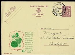 Publibel Obl. 429 ( Salon De La Poupée ) Obl. St - Gilles (Bruxelles) Obl. 06/11/1939 - Publibels