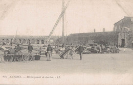 06 ANTIBES DECHARGEMENT DE CHARBON - Cap D'Antibes - La Garoupe
