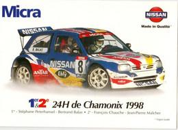 NISSAN MICRA - 24H DE CHAMONIX 1998 - Rallye