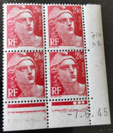 714 Marianne De Gandon CD 7.6.45 ** - 1940-1949